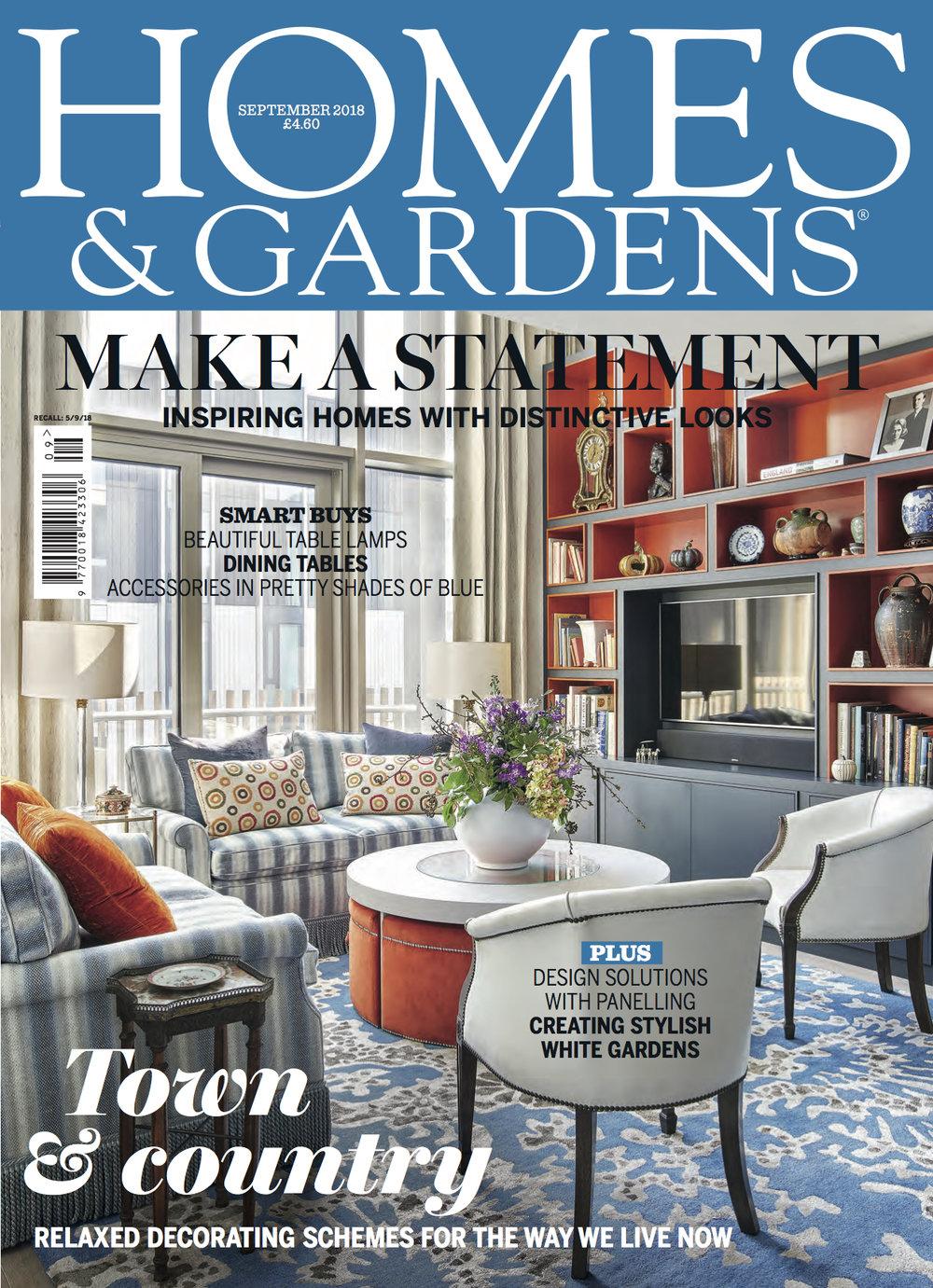 Homes & Gardens - September 2018