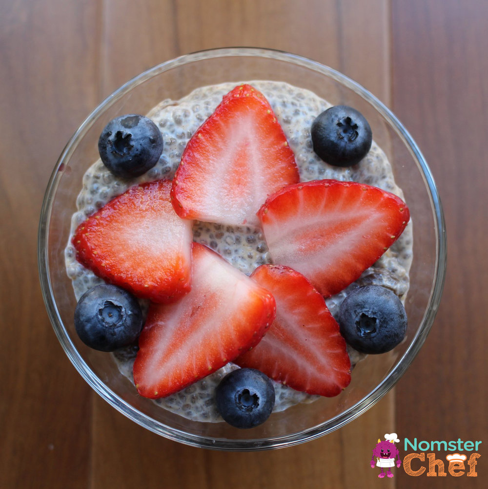 Chia Pudding Nomster Chef