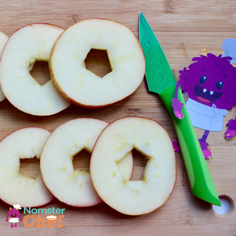 Apple slices - Nomster Chef Apple Rings Recipe