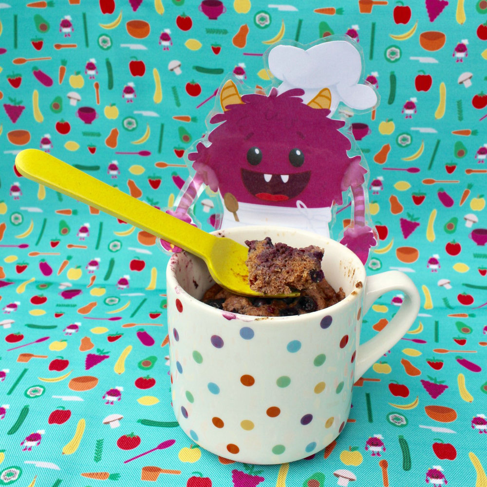 F-is-for-Flax-Seed-Mug-Muffins-Nomster-Chef-Blog-Nomster-Monster