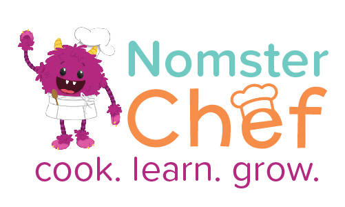 Nomster Chef Logo Cook Learn Grow