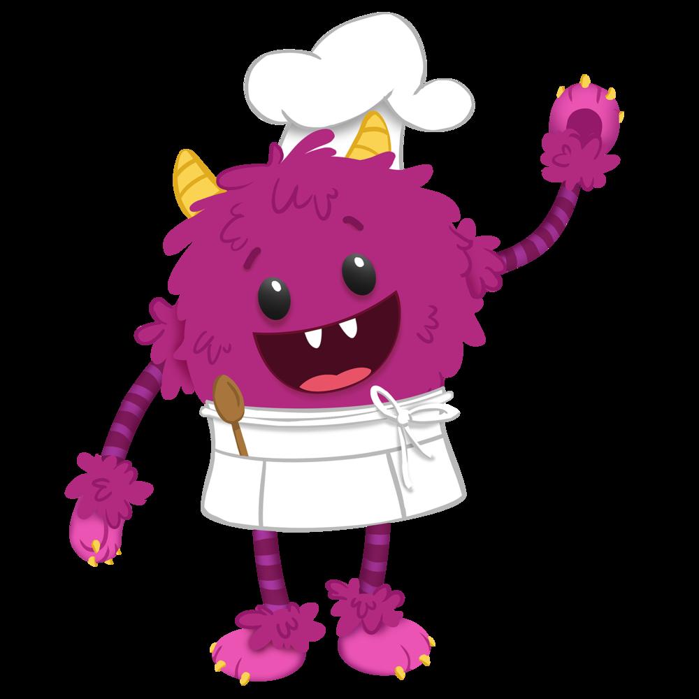 Nomster Monster Nomster Chef