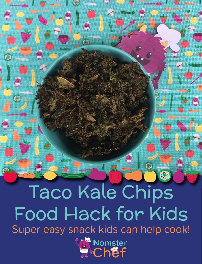 Food Hack Make Your Own Kale Chips_Nomster Chef