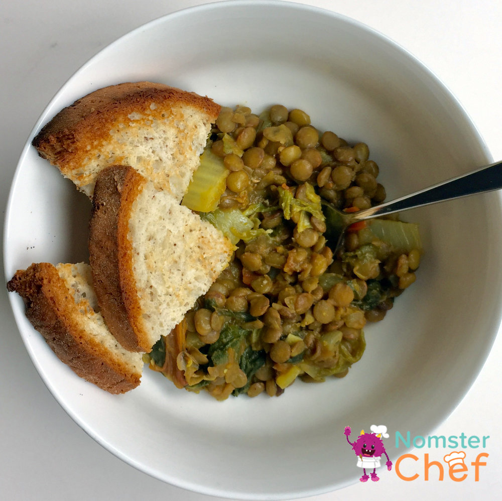 L is for Lentil Dal - Nomster Chef Blog Recipe