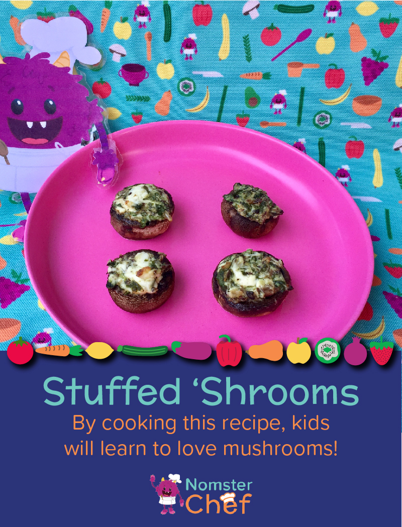 Stuffed Mushrooms Shtuffed Shrooms - Nomster Chef