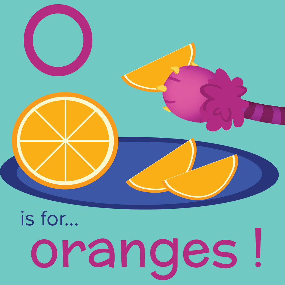 O is for Oranges - Nomster Chef