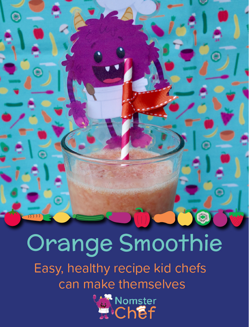 O is for orange smoothie - Nomster Chef