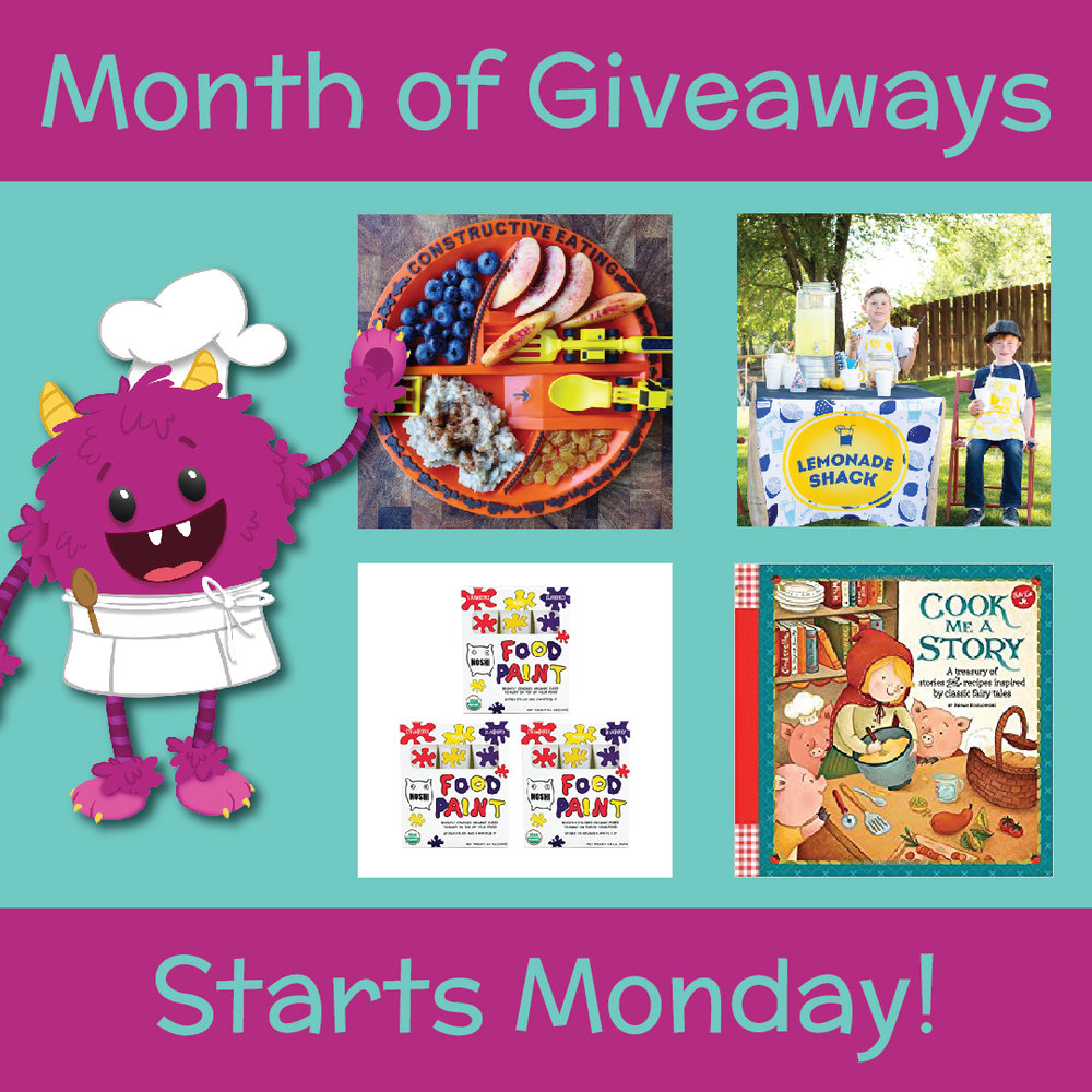 Healthy giveaways for kids
