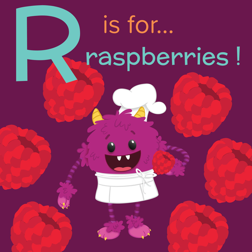 R is for Raspberry - Nomster Chef