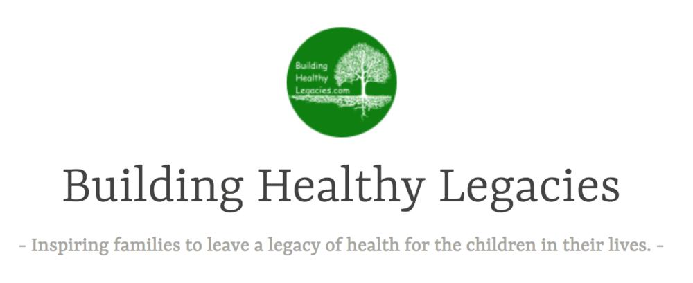 Building Healthy Legacies Blog - October 2017