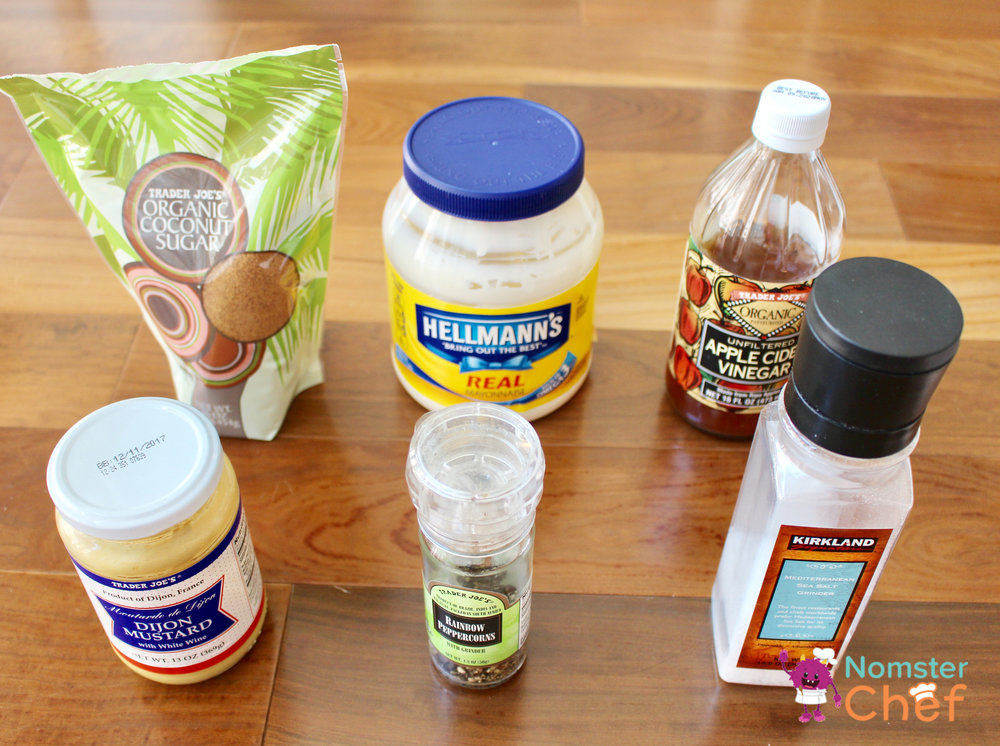 Creamy Dressing- food hacks - make your own salad dressing - Nomster Chef