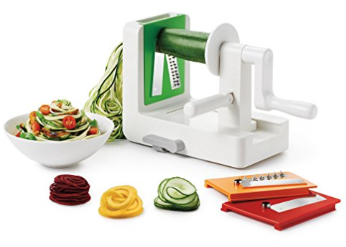 Oxo Spiralizer - What could be more fun than turning veggies into noodles? Nothing. A great way to make veggies more fun for kids to eat, and they can help with the process!