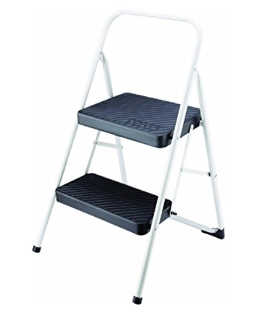 Folding Step Stool - For those tiny kid chefs that have tiny kitchens, this folding step stool can be the perfect solution. It folds flat for easy storage. Parents- you may have to experiment with the height of these- as some might make your little too tall.