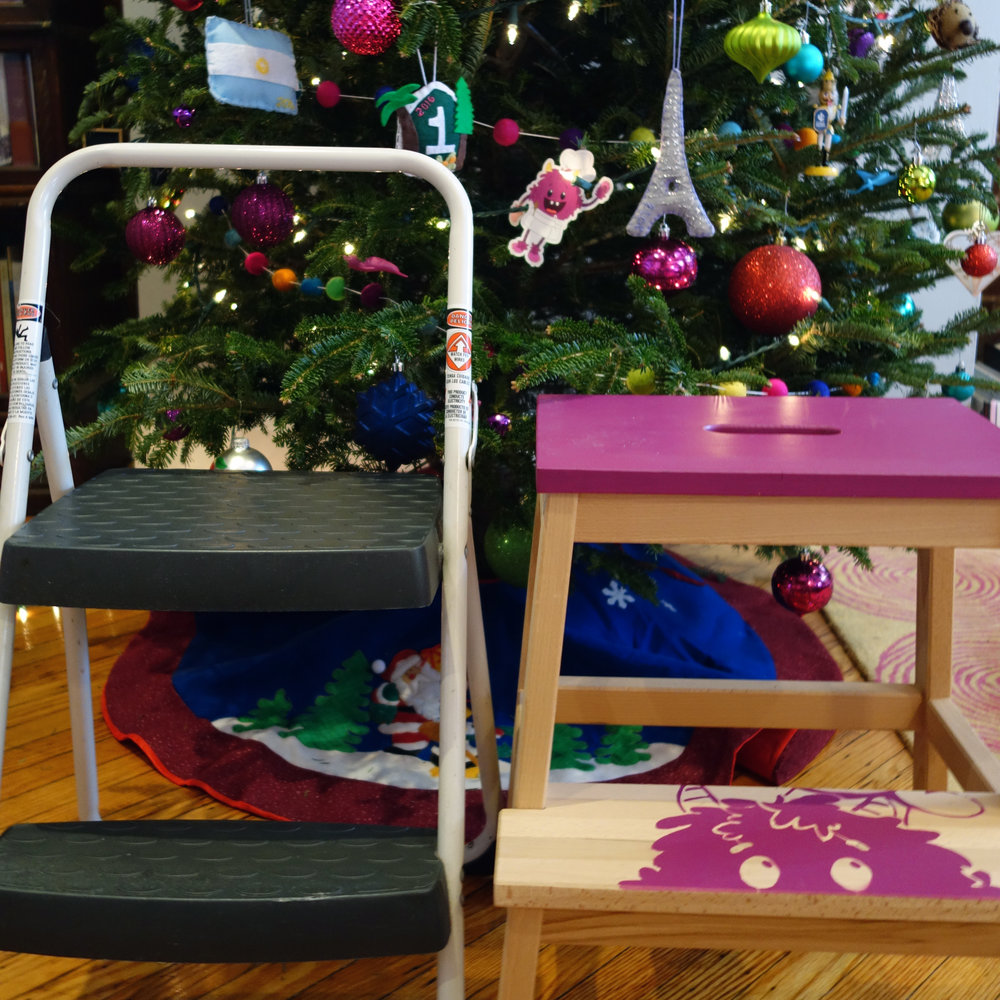 Gift guide for kids who like to cook - Step Stools for Kid Chefs