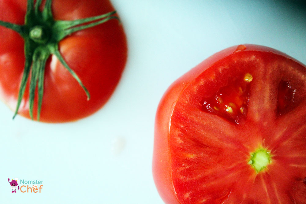T is for Tomato: Stuffed Tomatoes