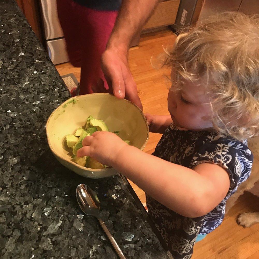 Chef Nya, Age 2