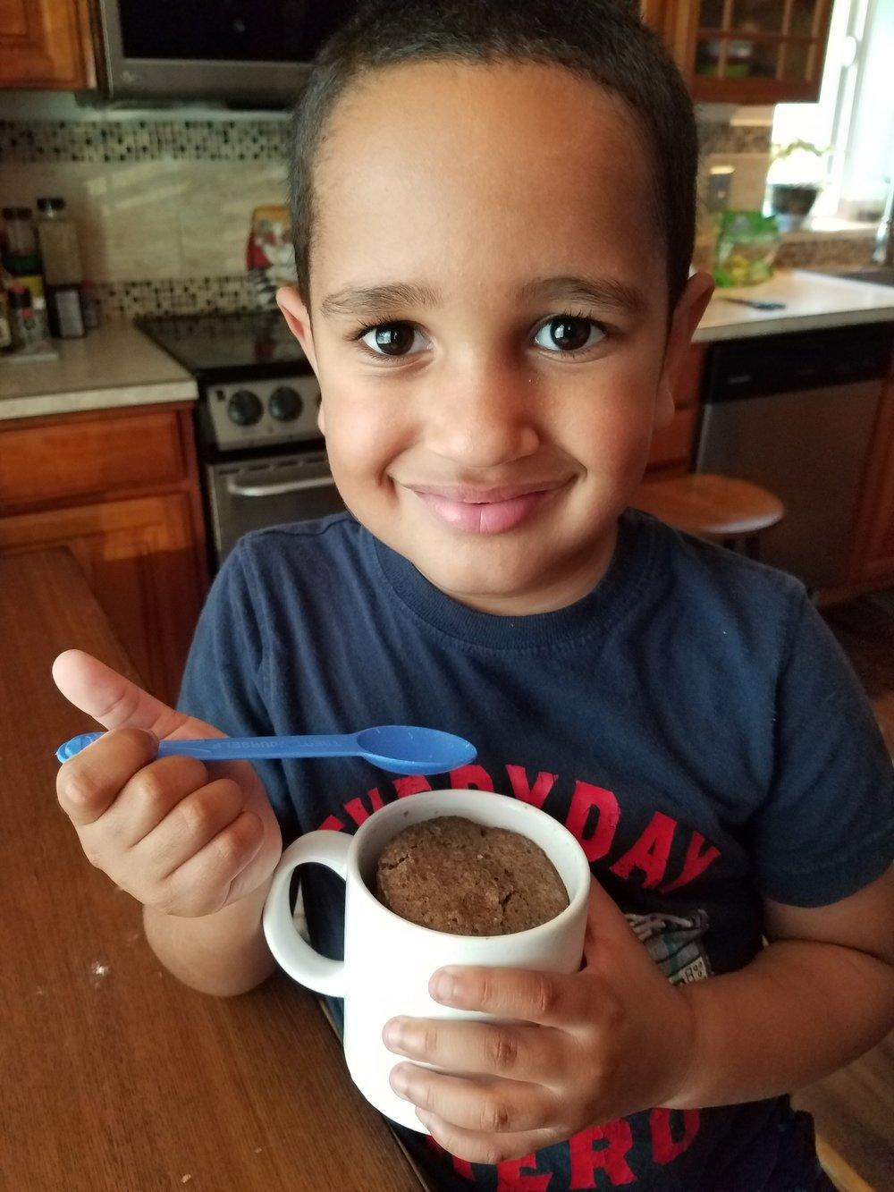 Chef Mason, Age 5