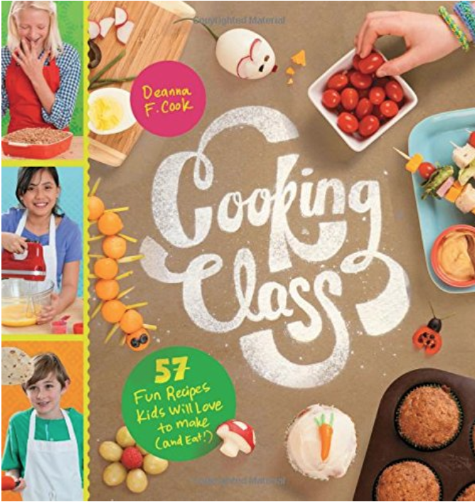 Cooking Class - We love this book and how it explains technique as well as recipes. For kids looking to boost all kinds of culinary skills, this cookbook is perfect.