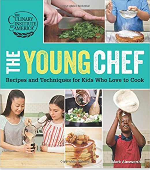 The Young Chef - Does your kid chef want to be a chef someday? Start her culinary training early with this book from the famous Culinary Institute of America.