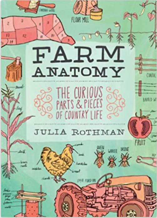 Farm Anatomy - Technically for adults, older kids (and younger kids with a grown-up reader) will love this book that explains every part of a farm. Illustrated by one of our personal favorite illustrators, Julia Rothman.