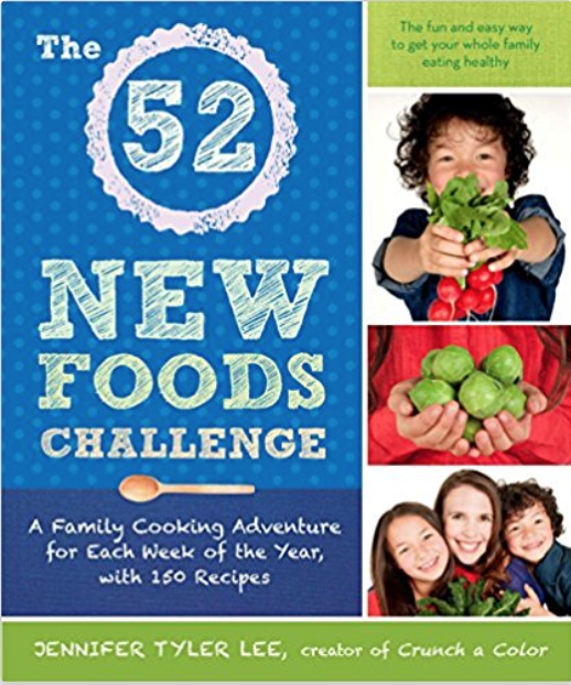 The 52 New Foods Challenge - Recipes for a whole year, with each week's recipes focusing on one new ingredient. Kids need repetition when trying new foods, and these recipes will help you achieve that without getting bored!