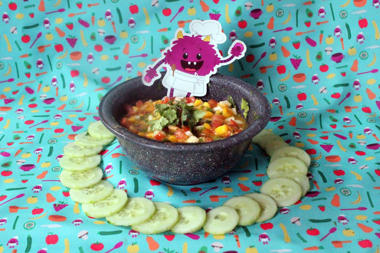 Nomster Chef | Kitchen Vocabulary: \'Dicing\' Mango Salsa | Fun food ...