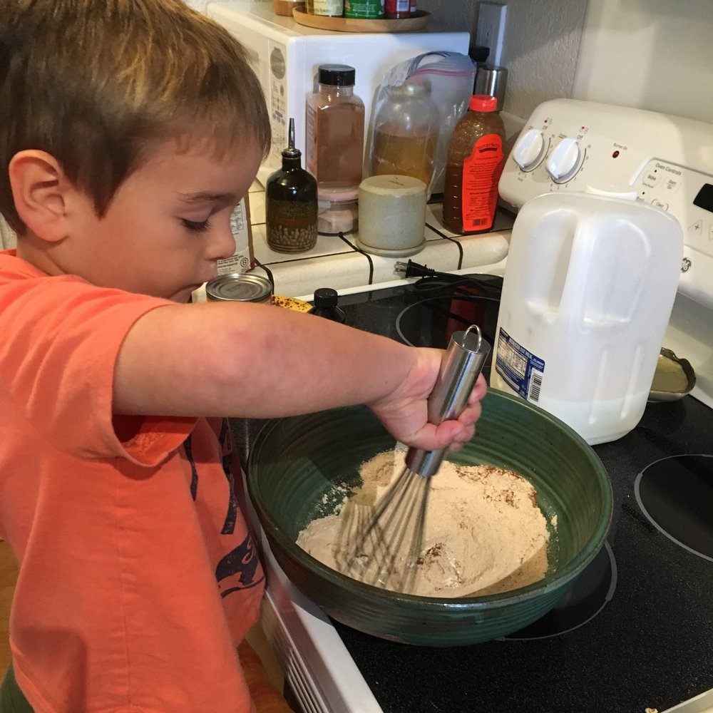 Chef Elliot, Age 4