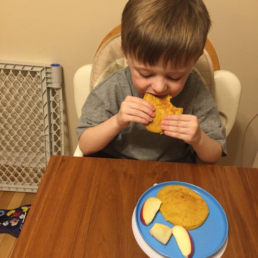Chef Nicholas, Age 4