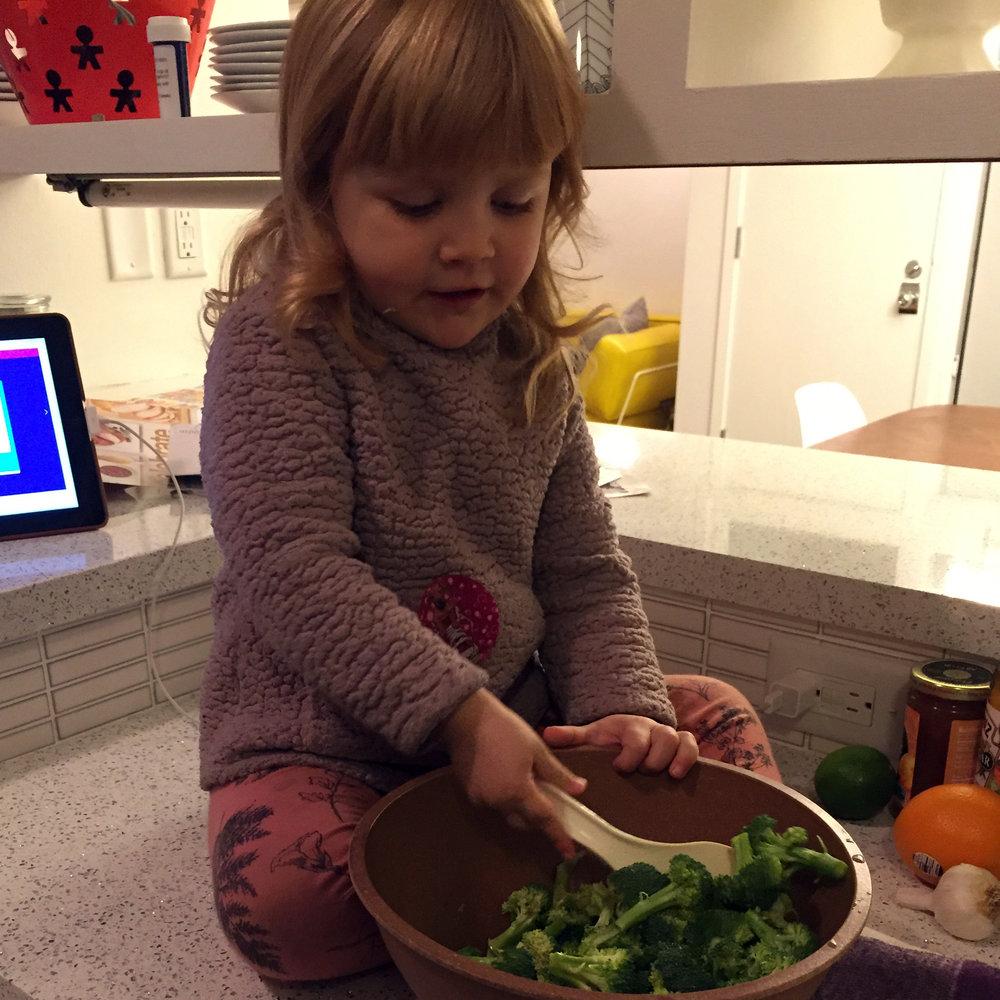 Chef Marley, Age 3