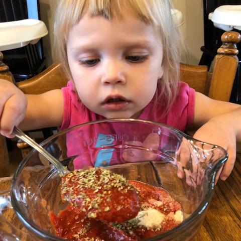 Chef Emma, Age 2