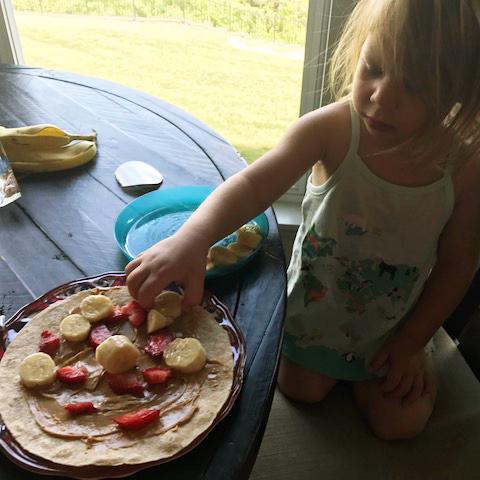 Chef Lydia, Age 2