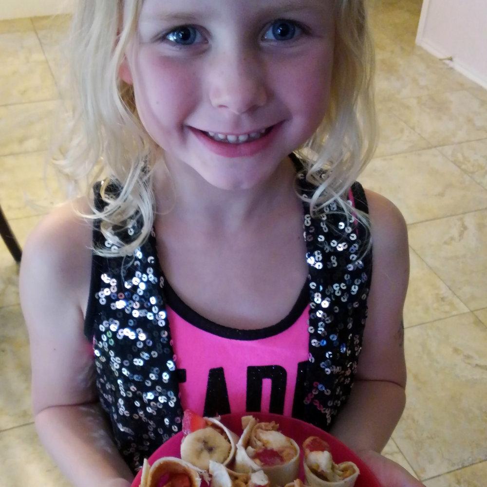 Chef Savannah, Age 6