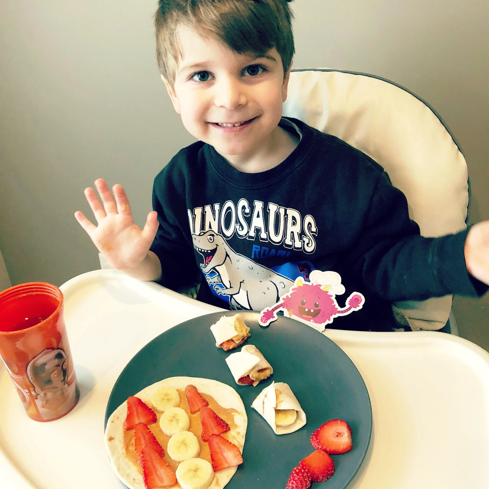 Chef Zachary, Age 4