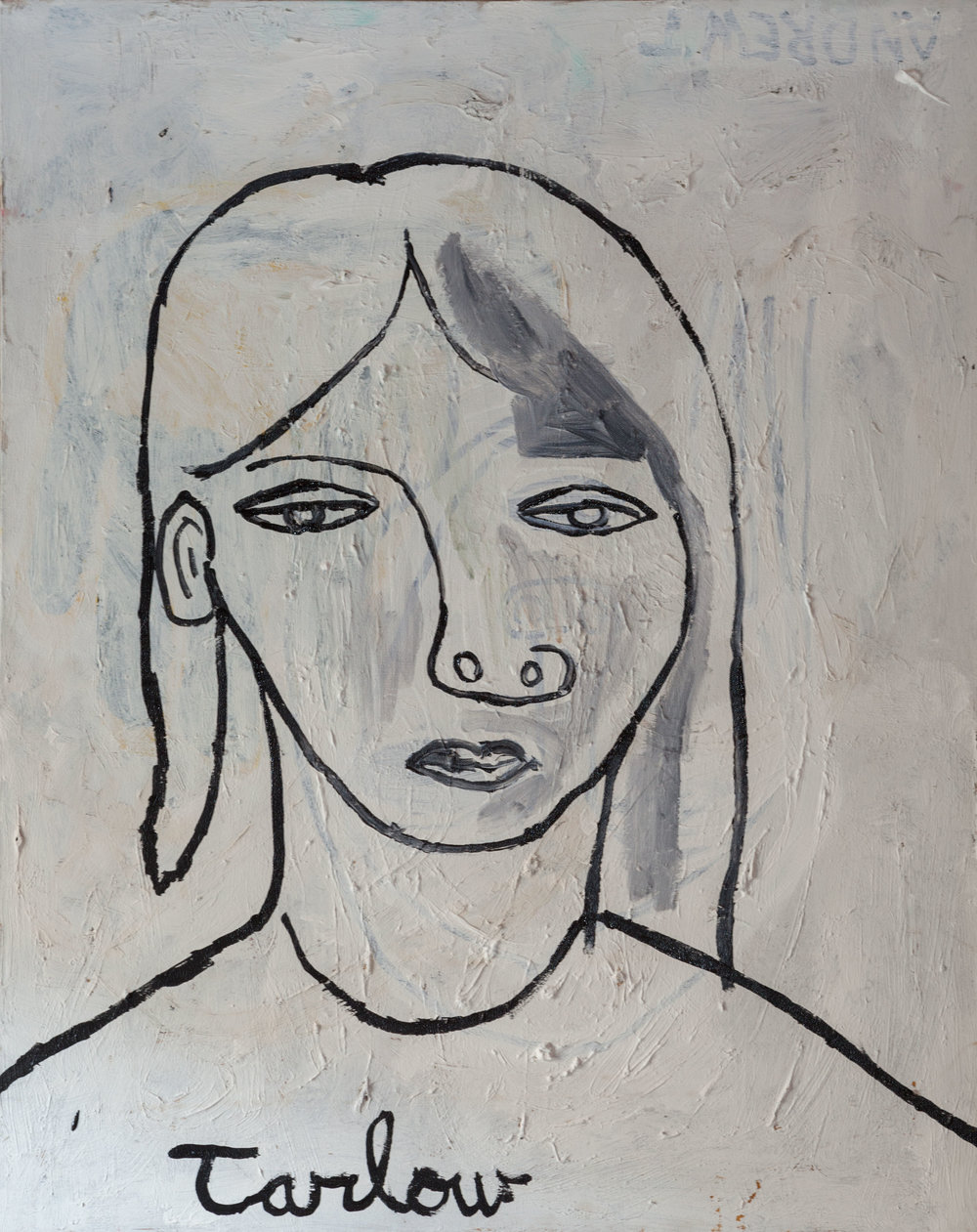 Woman #1 - Acrylic on canvas30 x 24 inches(Click on image for detail)