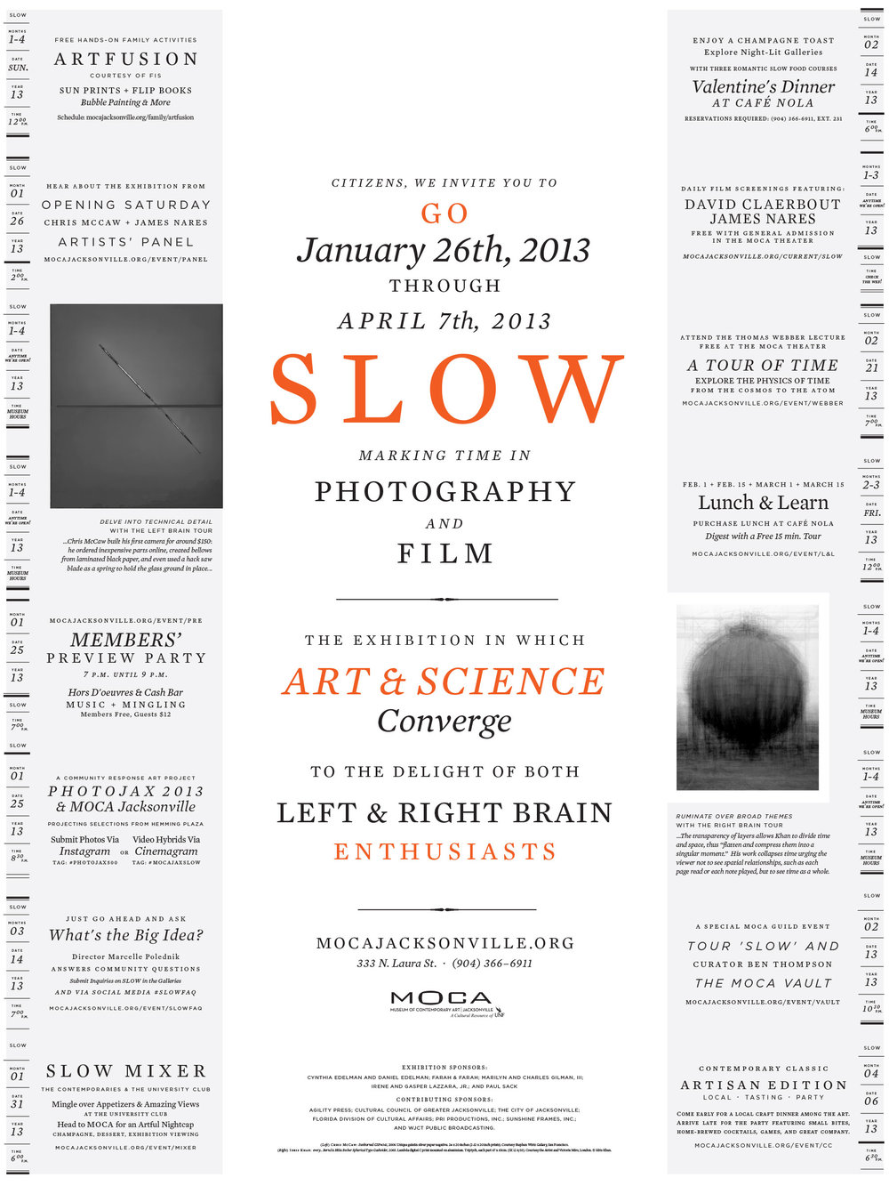 SLOW Poster as Pictured in  Print Magazine