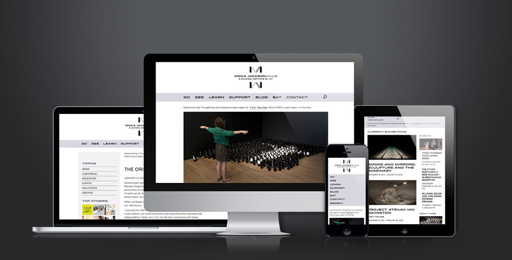 MOCA Jacksonville Website