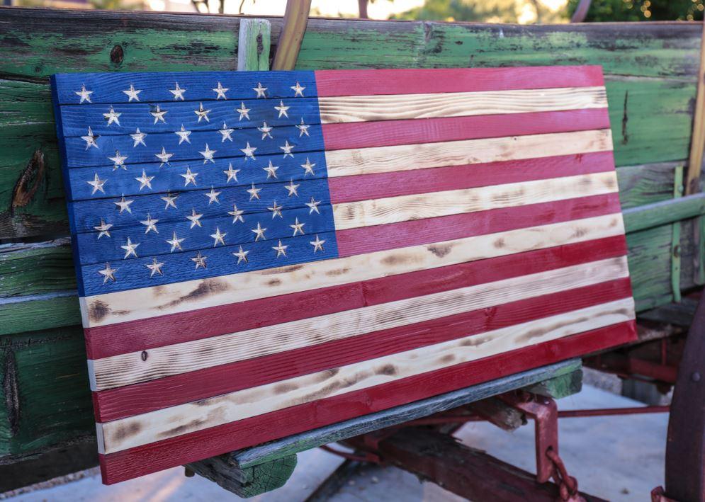 Vintage American Flag Horizontal.JPG