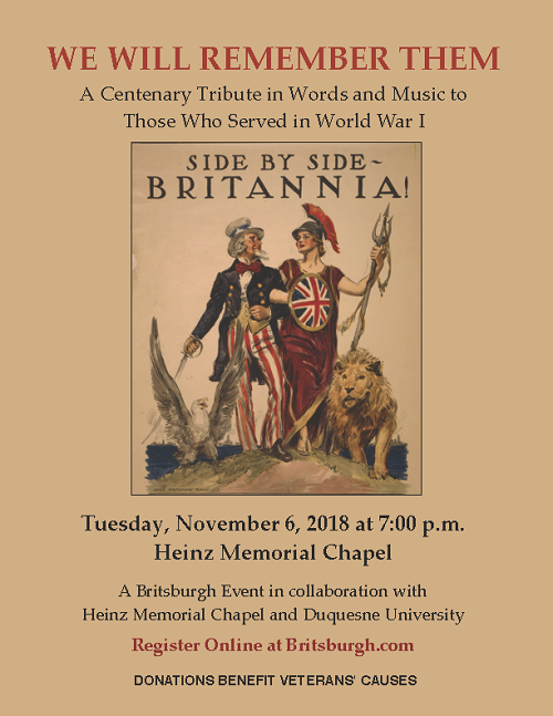 WWI Tribute Nov 6 2018 POSTER.png