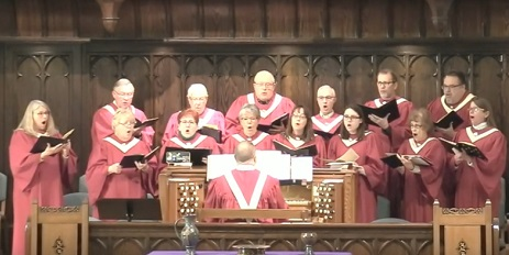 "CPCBA choir sings ""Lift Up Your Heads, O Ye Gates"" from the Messiah by George Frideric Handel (first performed in 1742 in Dublin Ireland), based on Psalm 24."