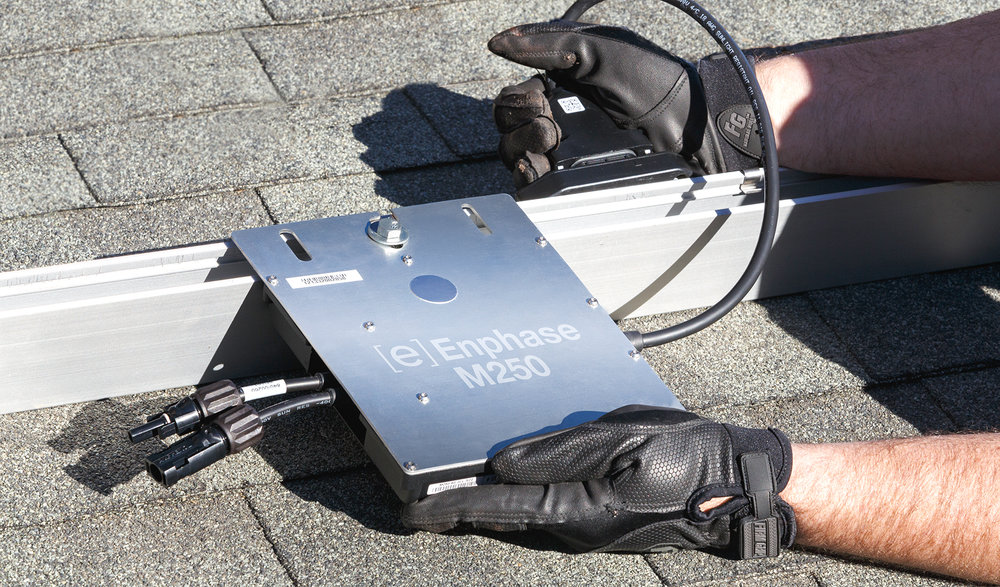 Enphase M250 Installation