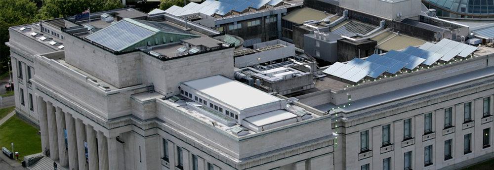 Auckland Museum Solar Install