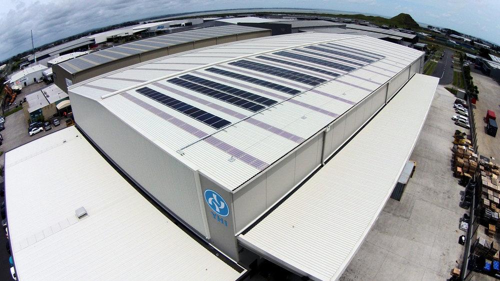 YHI Commercial Solar Install