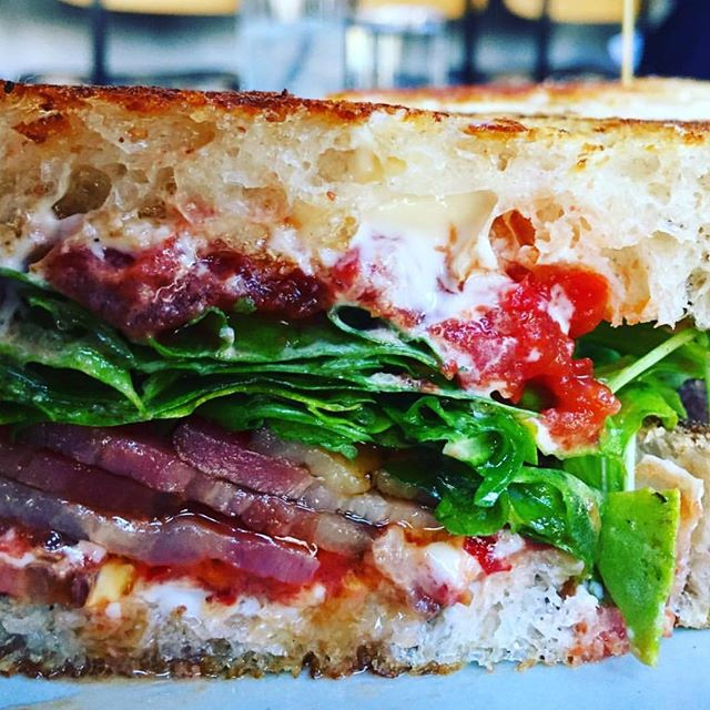You know we love tomato season. For BLTs and A(avocado)LTs. 🍅🥑🥓🍅🥑🥓 RP @theluckduo