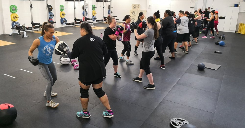 Counterpunch Fit - Having a blast learning new skills with our trainer Karla Hewitson.Foundations of boxing, basic punching skills & drills 🥊🥊🥊Currently held on Saturday mornings at 9am. Investment is $5 for HCC members, $10 for non members.