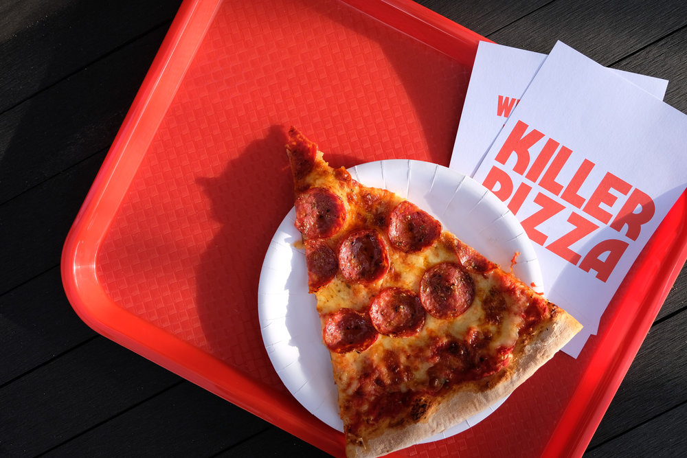 Killer Pizza Branding
