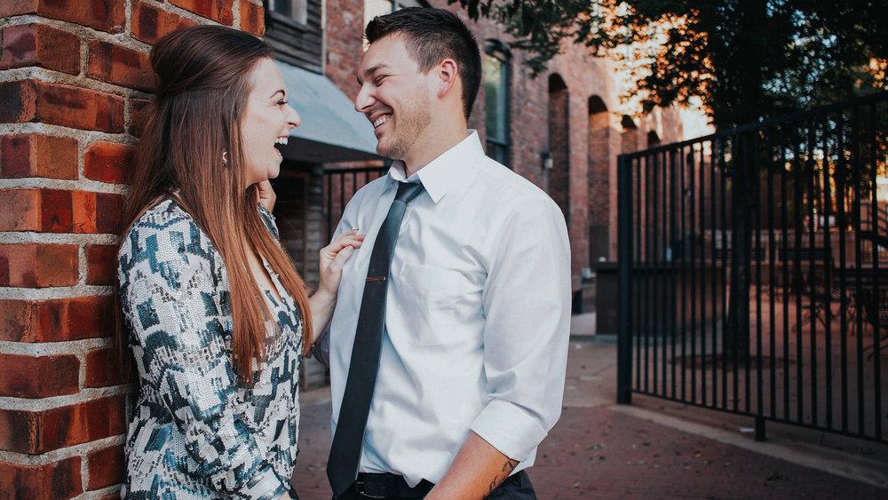 iowa wedding photographer engaged couple