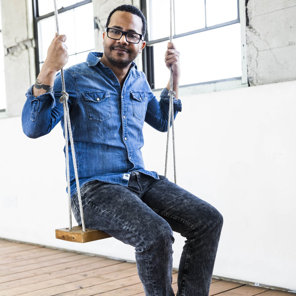 Norman Brown photographed by Kristyna Archer in Los Angeles.