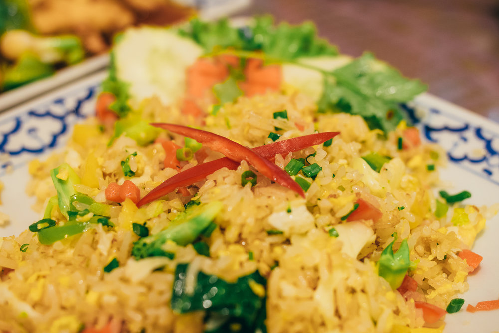 Fried rice with everything!