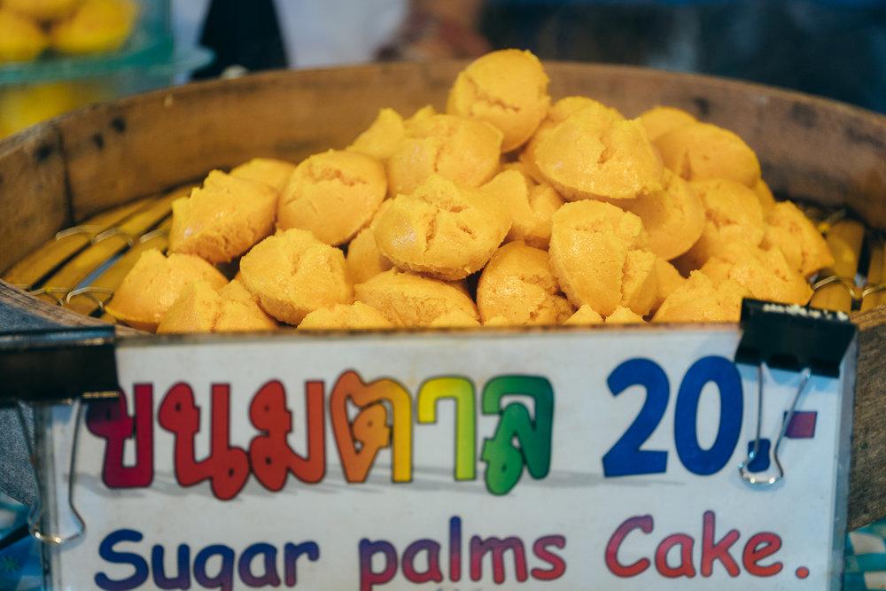 Sugar palm cake