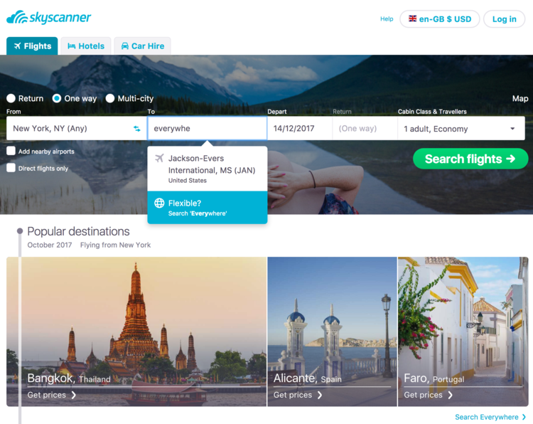 flights to alicante skyscanner